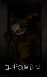 Springtrap by waywardJellyfish