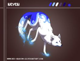 Moon light wolf: Neyen by Red-Sinistra