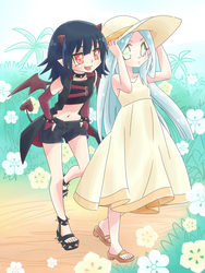 Lilies and Summer - Previous Forms by kuromikku