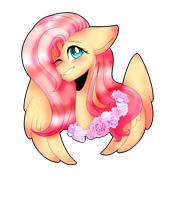 /AT/ Fluttershy by Kawaii-Lee-chan