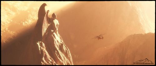 Guardian Angel by 3DLandscapeArtist