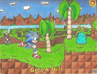 Sonic - Green Hill Remastered by ClassicTeam