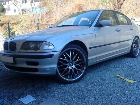 My E46 with vertini riviera 2 by BMWlover88