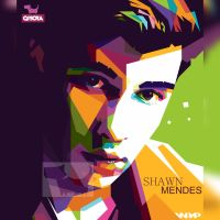Shawn Mendes in WPAP by gisoya