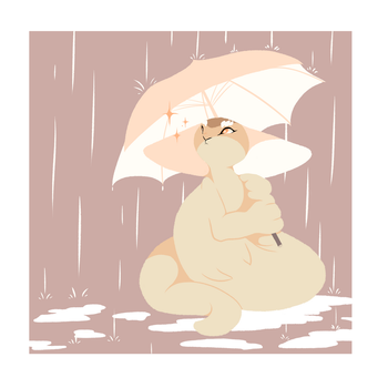 Rainy Days by ToonieCheckers