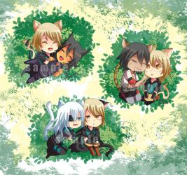 -- Lamento set of chibis -- by Kurama-chan