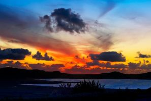 Sunset over the Atlantic by cprmay