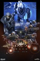 Halo: Reach Poster by Halcylon