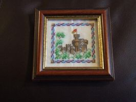 Castle by VickitoriaEmbroidery