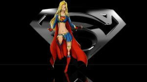 Supergirl  Wallpaper Alone In The Dark 1 by Curtdawg53