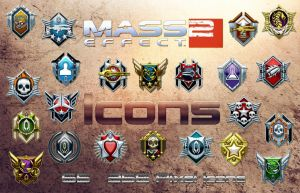 Mass Effect 2 Icons by DoggyCorner
