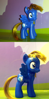 MLP.Custom: Glitch the Science Pony by Rayne-Is-Butts