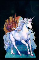 The Last Unicorn by AuditiesArt