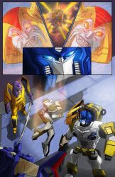 Transformers - Cybertronians page 21 color by shatteredglasscomic