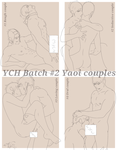 YCH Batch #2 Yaoi Couples. (CLOSED) by DanteKizu
