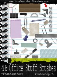 GIMP Office Stuff Brushes by Project-GimpBC