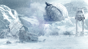 Hoth, After The Battle by Aste17