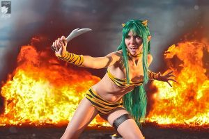 Fire Attack by Ryoko-demon