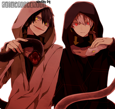 Kagerou Project render by AnimeLover20oo