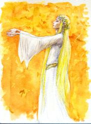 I sang of leaves of gold... by Pika-la-Cynique