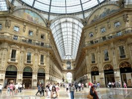 Mall Milan by WALKING-GIRL