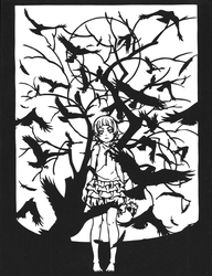 Papercut: Kizumonogatari by The-Old-Y