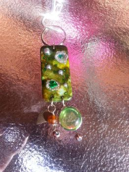 Mother's Day Keychain Domino by Roxie5526