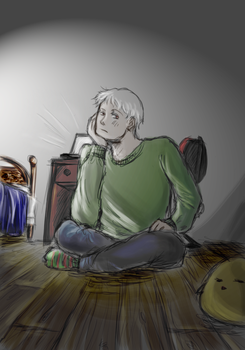 Bored Prussia is Bored. by HollyMoore