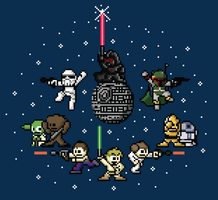 Star Wars Pixel by xkappax