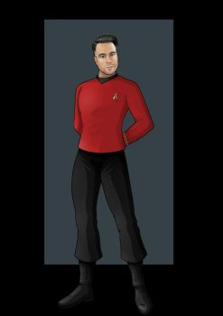 chief concept uniform (TOS) by nightwing1975