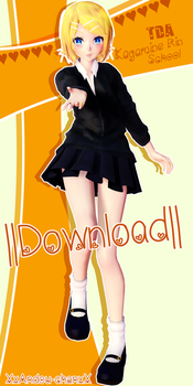 |TDA Rin School DOWNLOAD|Thanks for 40 Watchers!! by Xxandou-chanxX