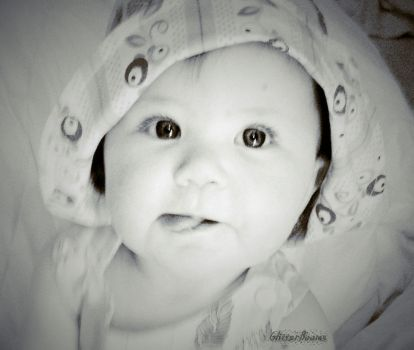 blacandwhite baby doll by Queen-Cakey