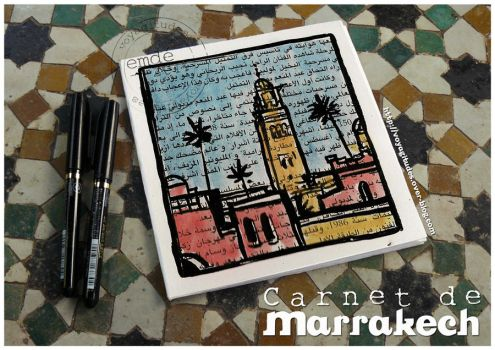 carnets a Marrakech 01 by gribouille