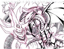 Doodle: Legendary Dragons by CaptainMika