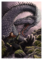 The Slaying of Scatha by woutart