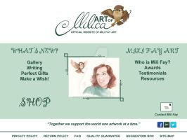 New Website Index Preview by artofMilica