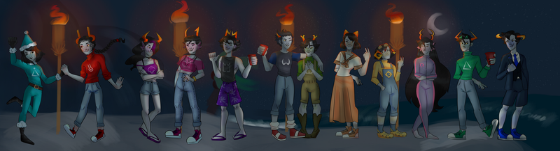 ain't no party like a highblood party by TheSpiciestRamen