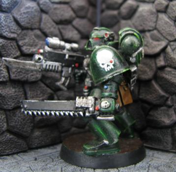 Space Marine Bounty Hunter by DrDoSoLittle
