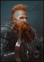 Dwarf Warrior by Redan23