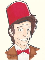 11th Doctor by BaileyBot