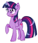 -Twilight Sparkle- [Pixel Art] by Sweet-Pillow