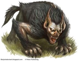 Barghest by MarjorieDavis