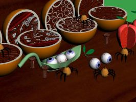 meat fruit by overkill429