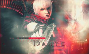 Dante (Devil May Cry) by UzmaVictor