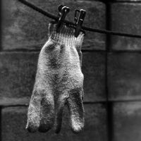 Father's glove by Menoevil
