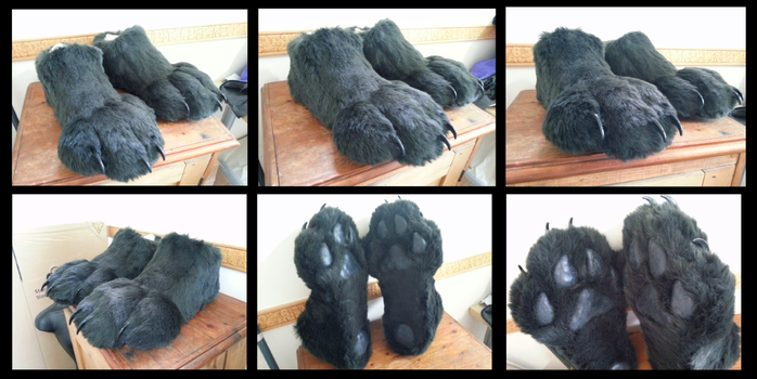 Kael Footpaws by CuriousCreatures