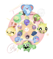 Silly Circlemon Splosion