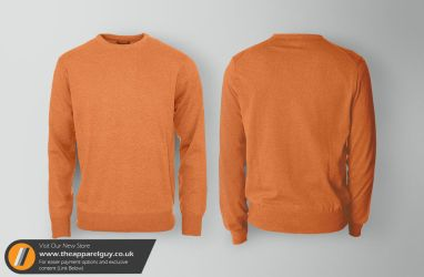 Cotton Sweater Mock Up by TheApparelGuy