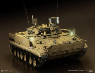 Infantry Fighting Vehicle BMP-3M by ABiator