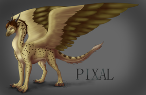Commission - Pixal by Ferrety-Lixciaa